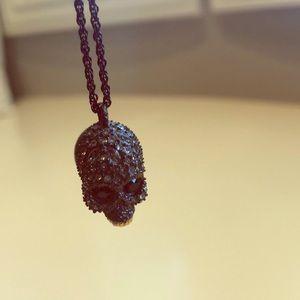 Alexis Bittar Skull necklace